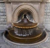 Heißwasser-Frühling Acqui Terme Stockbild