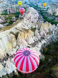 Hei?luft-Ballon in Cappadocia stockbilder