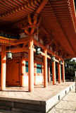 Heian寺庙在京都,日本 库存照片