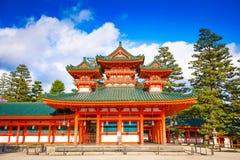 Heian świątynia Kyoto Obraz Royalty Free