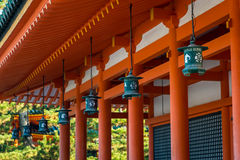 heian святыня Стоковое Изображение