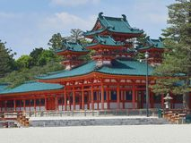 heian святыня jingu Стоковое Изображение