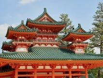 heian святыня jingu Стоковые Фотографии RF