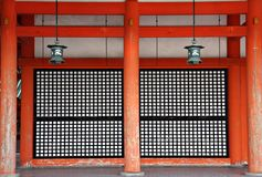 heian святыня kyoto Стоковые Фото