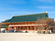 heian jingu寺庙 库存照片