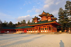 heian святыня jingu Стоковая Фотография RF