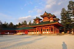 Heian Jingu Shrine royalty free stock photography