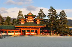 Heian Jingu Shrine Stock Photo