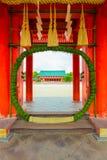 Heian-Jingu Shrine Chinowa-Kuguri Reed Wreath V Stock Photography