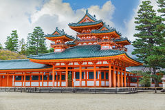 Heian Jingu Shrine in Kyoto Royalty Free Stock Photography