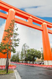 Heian Jingu Shrine in Kyoto Stock Photography