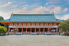 Heian Jingu Shrine in Kyoto Royalty Free Stock Image