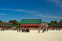 Heian Jingu Shrine Kyoto Japan Royalty Free Stock Photography