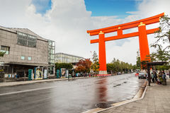 Heian Jingu Shrine in Kyoto, Japan Stock Images