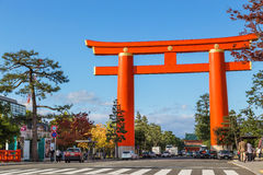 Heian Jingu Shrine in Kyoto, Japan Stock Image