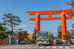 Heian Jingu Shrine in Kyoto, Japan Stock Images