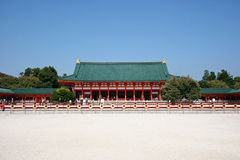 Heian Shingu Shrine Stock Images