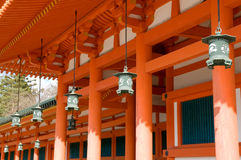 Heian Shrine Royalty Free Stock Photos