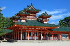 Heian Shrine Stock Image