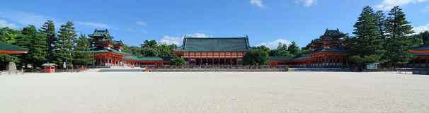 Heian Shrine Stock Images
