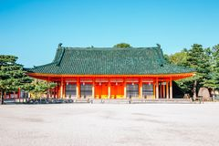 Heian Shrine in Kyoto, Japan. Heian Shrine historical architecture in Kyoto, Japan stock images