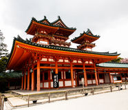 Heian shrine, Kyoto, Japan Royalty Free Stock Image