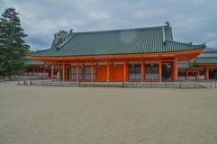 Heian Shrine At Kyoto Japan stock photos