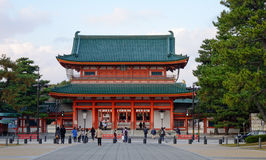 Heian Shrine in Kyoto, Japan Stock Photography