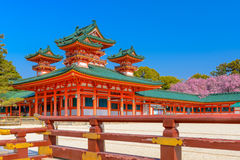 Heian Shrine in Kyoto Royalty Free Stock Image
