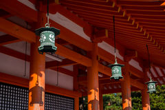 Heian Shrine Royalty Free Stock Photography