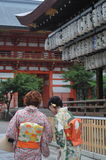 Heian Shrine Palace Royalty Free Stock Photography