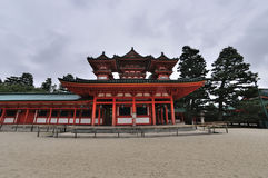 Heian Shrine Palace Royalty Free Stock Images
