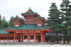 Heian Shrine Palace Stock Photos