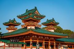 Heian Shrine Stock Images