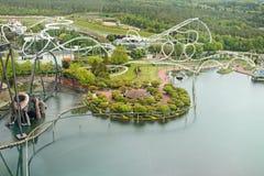 Heide Park Resort in Soltau duitsland Stock Foto