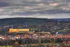 Heidecksburg i Rudolstadt Thüringen Fotografering för Bildbyråer