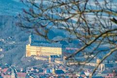 The Heidecksburg Rudolstadt Stock Photos