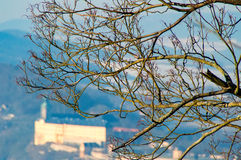 The Heidecksburg Rudolstadt blur Stock Images