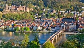 Heidelberg. View on Heidelberg at spring, Germany Royalty Free Stock Images