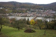 Heidelberg Imagen de archivo libre de regalías