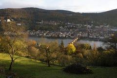 Heidelberg Imágenes de archivo libres de regalías