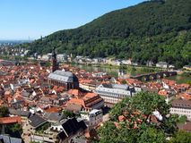 Heidelberg, Alemanha Imagem de Stock Royalty Free