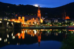 Heidelberg bridge Royalty Free Stock Images