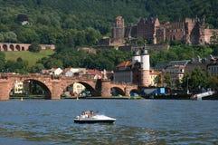 Heidelberg bridge Stock Photos