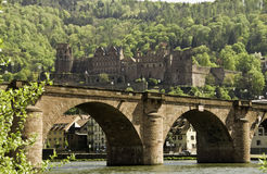 Heidelberg Bridge And Castle