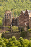 Heidelberg Castle. View over Heidelberg Castle in Heidelberg, Germany royalty free stock photo