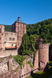 Heidelberg Castle. Detail of the Heidelberg Castle in Heidelberg, Germany stock images