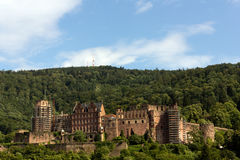 Heidelberg Castle. The medieval castle of Heidelberg, Southern Germany royalty free stock photo