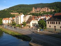 Heidelberg, castle. Nice wiev of the city Stock Image