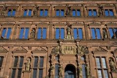 Heidelberg Castle. Wall of Heidelberg Castle Ruins Royalty Free Stock Image